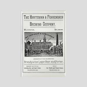 Hartmann & Fehrenbach Brewing Com Rectangle Magnet