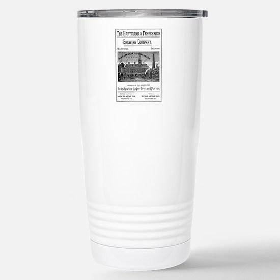 Hartmann & Fehrenbach B Stainless Steel Travel Mug