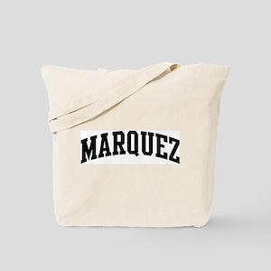 MARQUEZ (curve-black) Tote Bag
