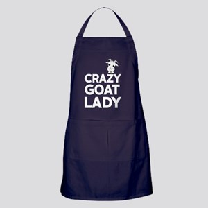 Crazy Goat Lady Apron (dark)