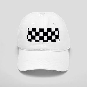 minimalist checkerboard Cap