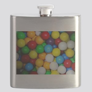 gumballs candy Flask