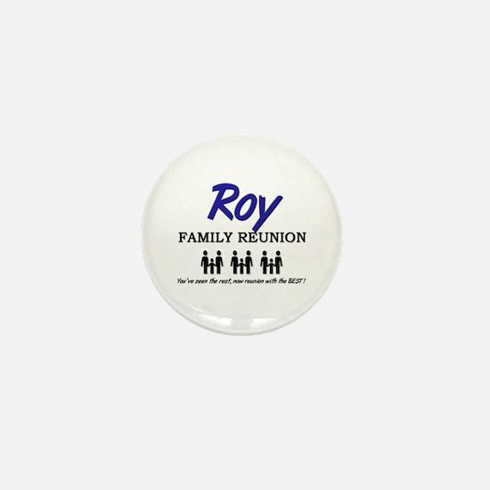 Roy Family Reunion Mini Button