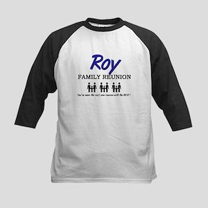 Roy Family Reunion Kids Baseball Jersey