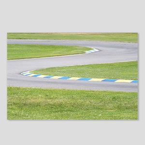 Kart Track Postcards (Package of 8)