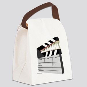 """Snapboard"" Clapboard Canvas Lunch Bag"