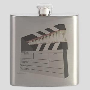 """""""Snapboard"""" Clapboard Flask"""