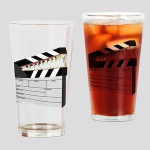 """""""Snapboard"""" Clapboard Drinking Glass"""