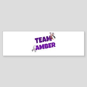 Team Amber Logo Bumper Sticker