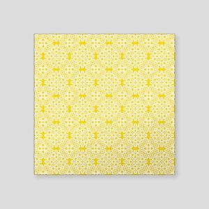 """Freesia & White Lace 2 Square Sticker 3"""" x 3"""""""