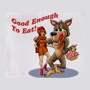 Good Enough To Eat Throw Blanket