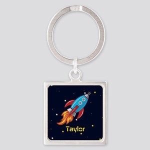 Rocket Ship in Outer Space, Boy or Girl Kid's Keyc