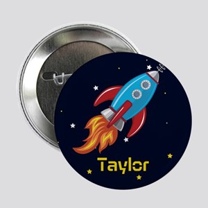 Rocket Ship in Outer Space, Boy or Girl Kid's 2.25