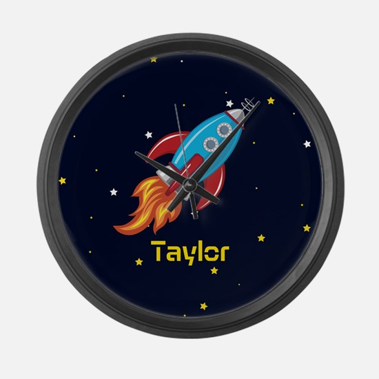 Rocket Ship in Outer Space, Boy or Girl Kid's Larg