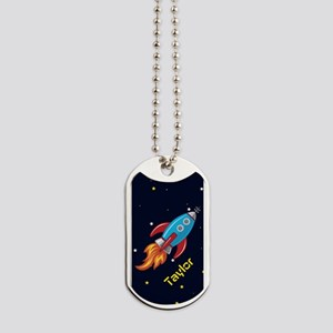 Rocket Ship in Outer Space, Boy or Girl Kid's Dog