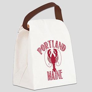 Portland Maine Canvas Lunch Bag