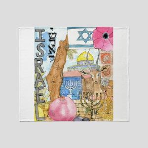 Israel, Throw Blanket