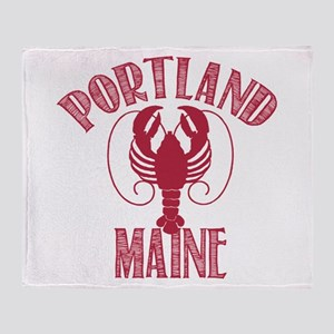 Portland Maine Throw Blanket