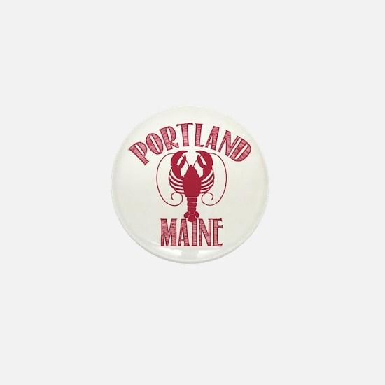 Portland Maine Mini Button