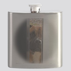 I'll be here when you come home Flask