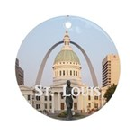 St. Louis Ornament (Round)