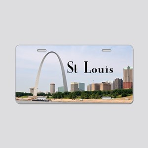St. Louis Aluminum License Plate