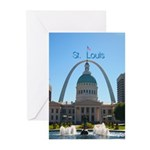 St. Louis Greeting Cards (Pk of 10)