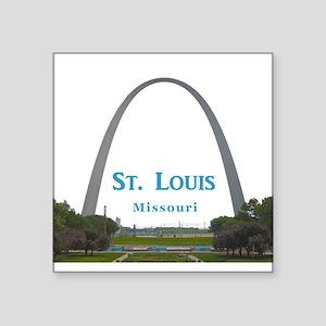 "St. Louis Square Sticker 3"" x 3"""