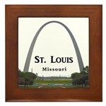 St. Louis Framed Tile