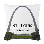 St. Louis Woven Throw Pillow