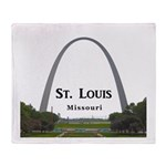 St. Louis Throw Blanket