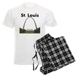 St. Louis Men's Light Pajamas