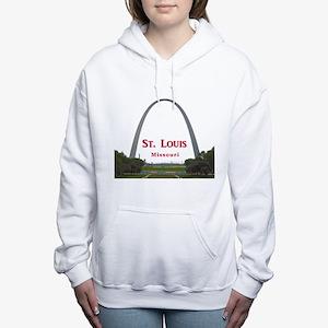 St. Louis Women's Hooded Sweatshirt