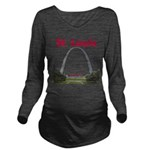 St. Louis Long Sleeve Maternity T-Shirt