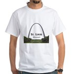 St. Louis White T-Shirt