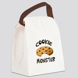 COOKIE MONSTER Canvas Lunch Bag