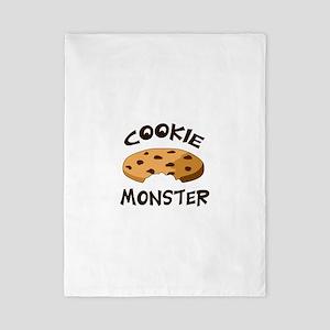 COOKIE MONSTER Twin Duvet