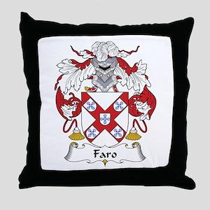 Faro Throw Pillow