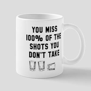 You miss 100% of shots Mug