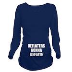 Deflaters Gonna Deflate Long Sleeve Maternity T-Sh