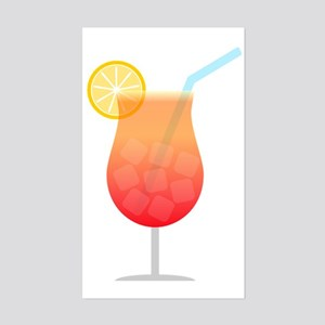 Cocktail Sticker (Rectangle)