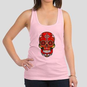 red sugar skull Tank Top