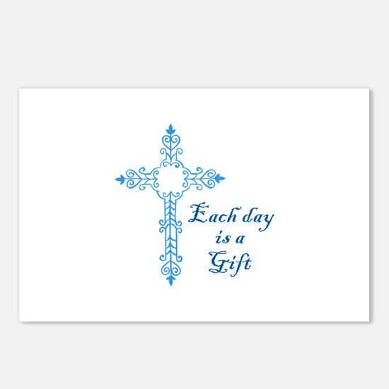 EACH DAY IS A GIFT Postcards (Package of 8)