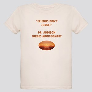 FRIENDS DON'T JUDGE Organic Kids T-Shirt