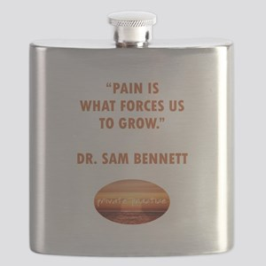 PAIN FORCES US TO GROW Flask