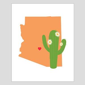 Arizona State Map Posters