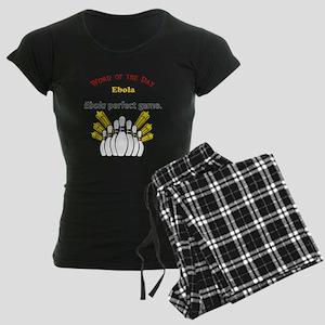 Ebola Women's Dark Pajamas
