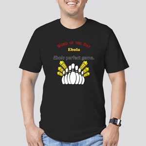 Ebola Men's Fitted T-Shirt (dark)