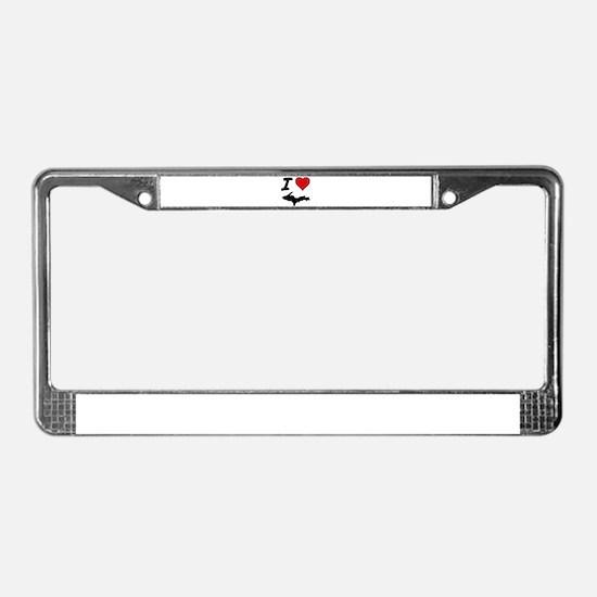 Unique Yooper License Plate Frame