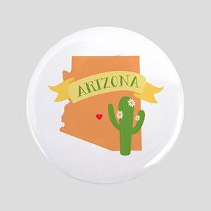 "Arizona Cactus Blossom 3.5"" Button"